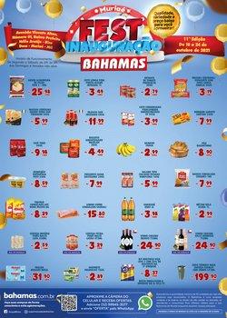 Ofertas de Supermercados no catálogo Bahamas Supermercados (  Publicado ontem)