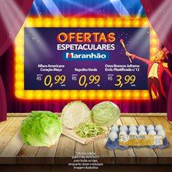 Promoção de Maranhão Supermercados no folheto de São José do Rio Preto