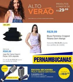Ofertas de Lojas de Departamentos no catálogo Pernambucanas (  Válido até amanhã)
