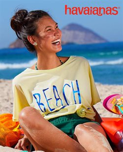 Ofertas Roupa, Sapatos e Acessórios no catálogo Havaianas ( Mais de um mês )