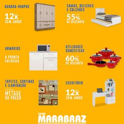Ofertas de Casa e Decoração no catálogo Marabraz (  Publicado hoje)