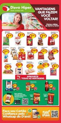 Catálogo D'avó Supermercado (  Vence hoje)