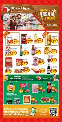 Ofertas de Supermercados no catálogo D'avó Supermercado (  Vence hoje)