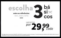 Promoção de Hering no folheto de Recife