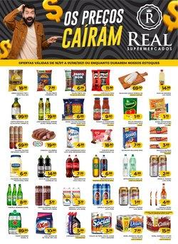 Ofertas de Supermercados Real no catálogo Supermercados Real (  7 dias mais)