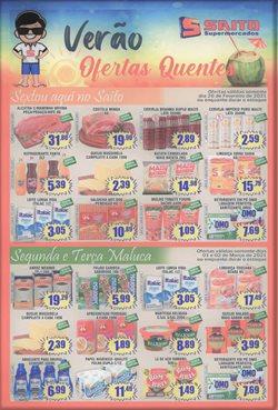 Catálogo Saito Supermercados ( 3 dias mais )