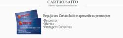 Cupom Saito Supermercados em Aracaju ( Mais de um mês )