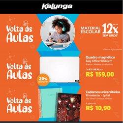 Ofertas de Kalunga no catálogo Kalunga (  Publicado hoje)