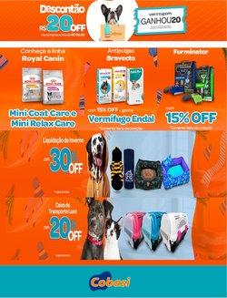 Ofertas de Cobasi no catálogo Cobasi (  Vence hoje)