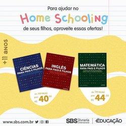 Ofertas Livraria, Papelaria e Material Escolar no catálogo SBS em Uberlândia ( Mais de um mês )
