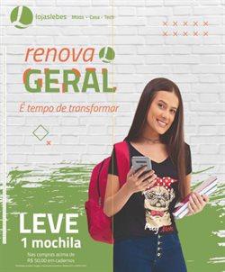Ofertas Lojas de Departamentos no catálogo Lojas Lebes em Porto Alegre ( 3 dias mais )