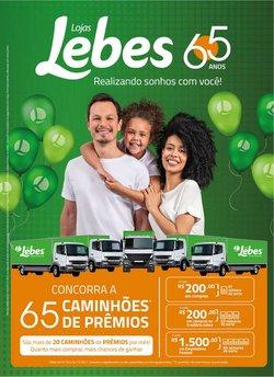 Ofertas de Lojas Lebes no catálogo Lojas Lebes (  15 dias mais)