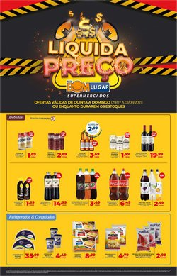 Ofertas de Supermercados no catálogo Rede Bom Lugar (  Publicado hoje)