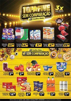 Ofertas de Supermercados no catálogo Coelho Diniz (  Publicado hoje)
