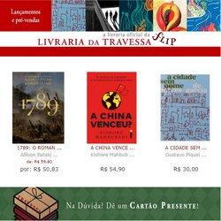 Ofertas de Livraria da Travessa no catálogo Livraria da Travessa (  6 dias mais)