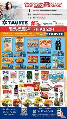Ofertas Supermercados no catálogo Supermercados Tauste em Sorocaba ( 2 dias mais )