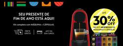 Promoção de Nespresso no folheto de São Paulo