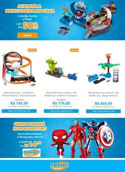 Ofertas Brinquedos, Bebês e Crianças no catálogo PBKids em Ribeirão Preto ( 2 dias mais )