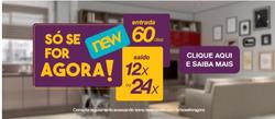 Promoção de New Móveis no folheto de São Paulo