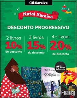Catálogo Livraria Saraiva em São Leopoldo ( Vencido )