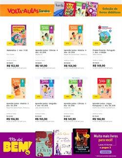 Ofertas Livraria, Papelaria e Material Escolar no catálogo Livraria Saraiva em Curitiba ( 3 dias mais )