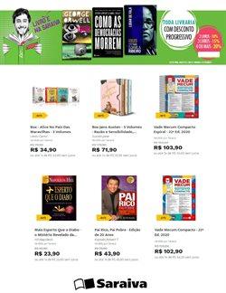 Ofertas Livraria, Papelaria e Material Escolar no catálogo Livraria Saraiva em Campinas ( 8 dias mais )