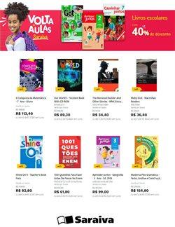 Ofertas Livraria, Papelaria e Material Escolar no catálogo Livraria Saraiva em Taboão da Serra ( 12 dias mais )