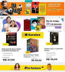 Ofertas de Livraria Saraiva no catálogo Livraria Saraiva (  Vence hoje)