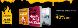 Promoção de Livraria, papelaria, material escolar no folheto de Livraria Saraiva em Nossa Senhora do Socorro
