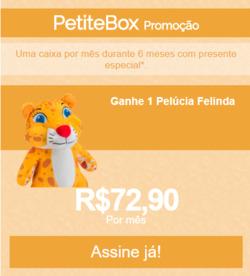 Promoção de PetiteBox no folheto de São Paulo