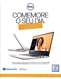 Promoção de Dell no folheto de Dell em São Paulo