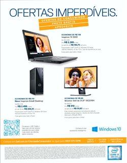 Promoção de Acer no folheto de Dell em Montes Claros