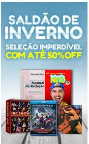 Promoção de Livraria, papelaria, material escolar no folheto de Livraria da Folha em São Paulo