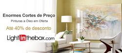Promoção de LightInTheBox no folheto de São Paulo