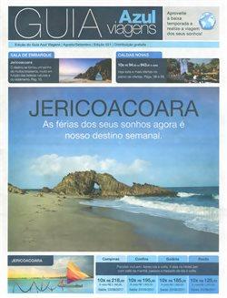 Promoção de Azul no folheto de Belo Horizonte
