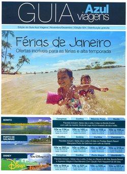 Promoção de Azul no folheto de São Paulo