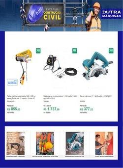 Ofertas Material de Construção no catálogo Dutra Máquinas em Diadema ( Vence hoje )