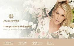 Promoção de Ana Hickmann no folheto de São Paulo
