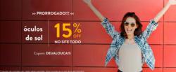 Promoção de Óticas e centros auditívos no folheto de Óculos SHOP em São Paulo