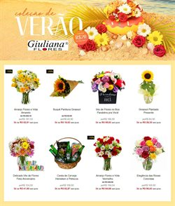 Ofertas Casamentos e Festas no catálogo Giuliana Flores em Curitiba ( 2 dias mais )
