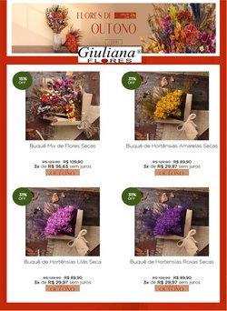 Ofertas Casamentos e Festas no catálogo Giuliana Flores em São Bernardo do Campo ( 8 dias mais )