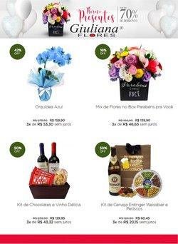 Ofertas de Giuliana Flores no catálogo Giuliana Flores (  5 dias mais)