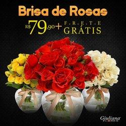 Ofertas de Casamentos e Festas no catálogo Giuliana Flores (  7 dias mais)