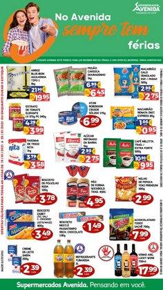 Catálogo Supermercados Avenida ( Vence hoje )
