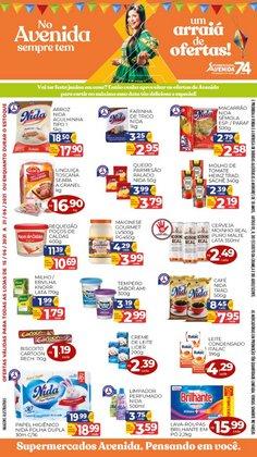 Ofertas de Supermercados Avenida no catálogo Supermercados Avenida (  2 dias mais)