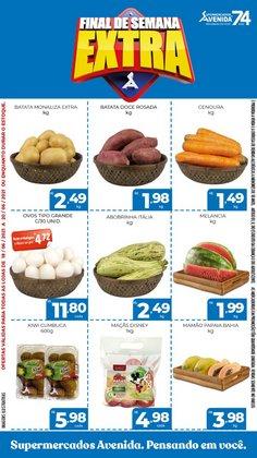 Ofertas de Supermercados Avenida no catálogo Supermercados Avenida (  Válido até amanhã)