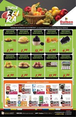 Ofertas de Supermercados no catálogo Supermercado Dalben (  Vence hoje)