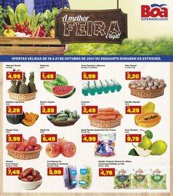 Ofertas de Boa Supermercados no catálogo Boa Supermercados (  Vence hoje)