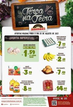 Ofertas de Supermercados no catálogo Empório Bahamas (  Vence hoje)