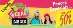 Promoção de Lojas Silva no folheto de Lençóis Paulista